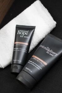 BOGO Free philosophy Men's Skin Care + Up to 6 Free Deluxe Samples