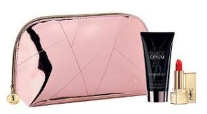 Free Yves Saint Laurent Pink Pouch & Sample Set @Sephora