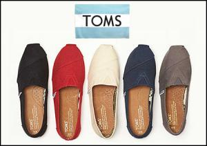 TOMS: Extra 25% OFF End of Year Sale