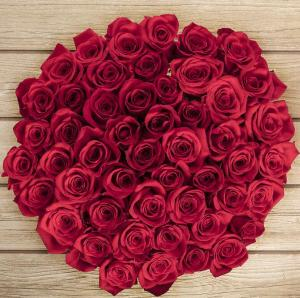 Pre-Order! $49.99 for 50 Stem Valentine's Day Red Roses
