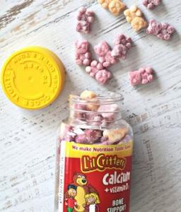$6.29 Lil Critters Calcium Gummy Bears with Vitamin D3, 150 Count