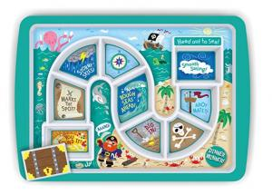 $11.99 Fred DINNER WINNER Kids' Dinner Tray, Pirate