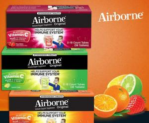 $4 OFF Airborne Immune Support, 36 Effervescent Tablets