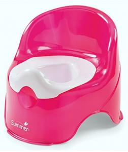 $7.99 Summer Infant Lil' Loo Potty, Raspberry and White