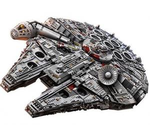 For Star Wars True Fans! LEGO Star Wars Ultimate Millennium Falcon 75192 Building Kit (7541 Pieces) $799.99