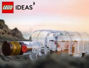$69.99 LEGO Ship in a Bottle Plus a 60 Years of the LEGO Brick Set Free with $125 Purchase