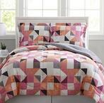 $13.48-$19.99 3-PC Reversible Comforter Sets @Macy's