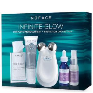 Only $195 (Worth $443) NuFACE Trinity Infinite Glow Complete Microcurrent and Hydration Collection