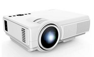 $34.99 (Was $129) TENKER Q5 Mini Projector 1500 Lumens LED Portable Movie Projector