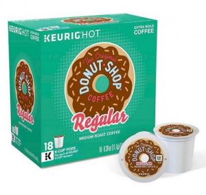 Over 50% OFF Keurig The Original Donut Shop® Coffee 18-pk. K-Cup Portion Pack