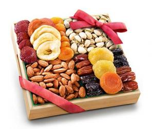 $10.65 Golden State Fruit Pacific Coast Classic Dried Fruit Tray Gift