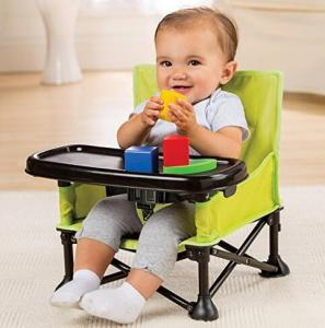 $22.99 Summer Infant Pop and Sit Portable Booster, Green/Grey