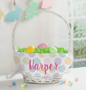 20% OFF Personalized Easter Basket
