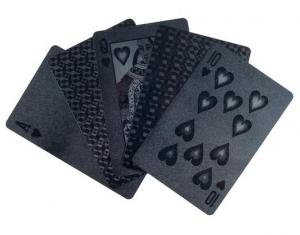 $9.99 + Free Shipping 2-Pack Devil Black Embossed Playing Cards
