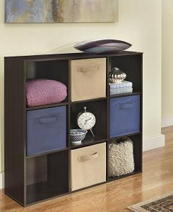 $32.87 ClosetMaid 8937 Cubeicals Organizer, 9-Cube, Espresso