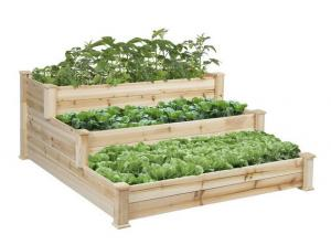 $61.75 (Wa $199.95) 3 Tier Garden Planter - Natural