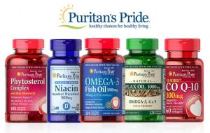 Buy 1 Get 2 Free + 19% OFF on Puritan's Pride-Brand Vitamins