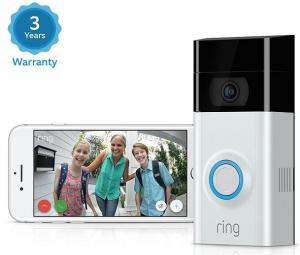 $159.95 (Was New Ring Video Doorbell 2, HD Surveillance 2-Way Talk and 3 Year Warranty