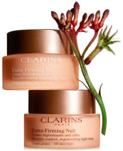 Buy 1 Get 1 40% OFF Clarins + Free Travel Size Extra-Firming Night Cream
