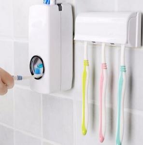 $12.99 (Was $29.99) Automatic Toothpaste Dispenser & Brush Holder
