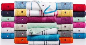 $4.99 (Was $16) Tommy Hilfiger All American II Cotton Bath Towel, Created for Macy's