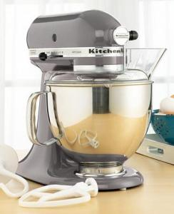 $219.99 (Was $499.99) KitchenAid KSM150PSSM Artisan 5 Qt. Stand Mixer @Macy's