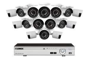 $549.99 (Was $1149.99) 1080p 16 Channel HD Security Camera System with 16 1080p Outdoor Cameras