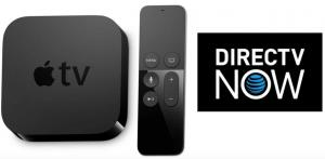 $105 (Was $319) 3-Months Prepaid DIRECTV NOW + 4K Apple TV