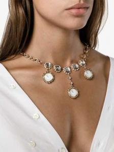 clock pendant necklace