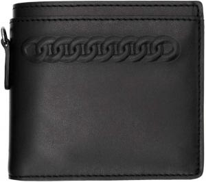 Stella McCartney Black Falabella Bifold Wallet