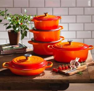 Le Creuset: 40% off Select Items + Free Cookbook
