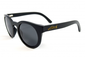 Claire Coal Bamboo Sunglasses