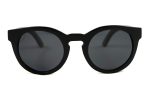 Claire Coal Bamboo Sunglasses