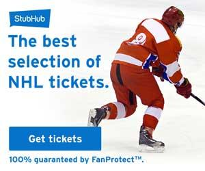 Best selection of NHL tickets from $6