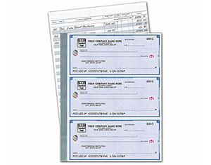 Deluxe High Security 3-On-A-Page Compact Size Checks from $86.99