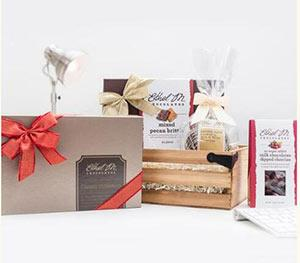 Jolly Chocolate Gift Crate
