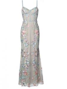 30% off MARCHESA NOTTE floral embroidered gown