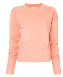 40% off CHLOÉ jumper with front button pockets