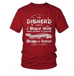 $4 off Disnerd Live in a Magical World T-Shirt - Disnerd Shirt