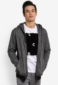 $30 off ZALORA Lace Up Detail Hoodie