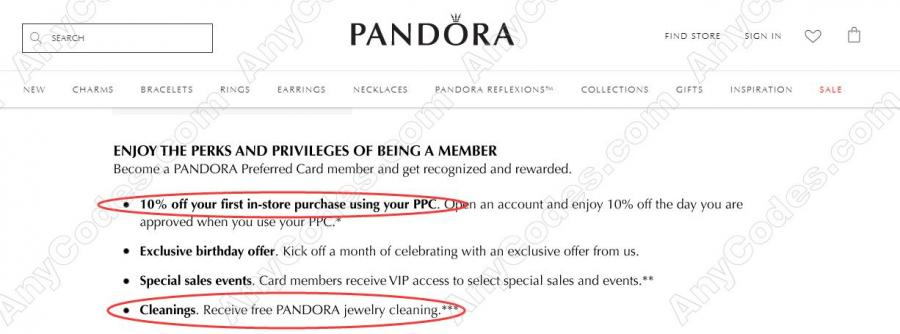 d173360dd Pandora Promo Code and Promo Code July 2019 by AnyCodes