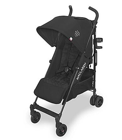 Maclaren Quest Style Set Stroller in Black/Black